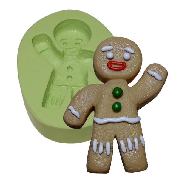 Molde Boneco Biscoito