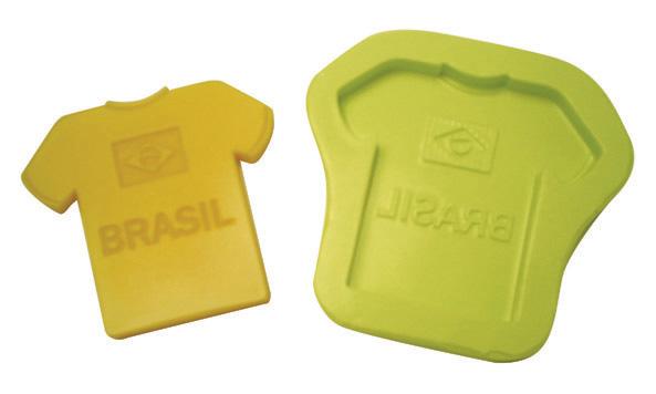 Molde Camiseta Brasil