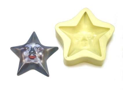 Molde Estrela Face