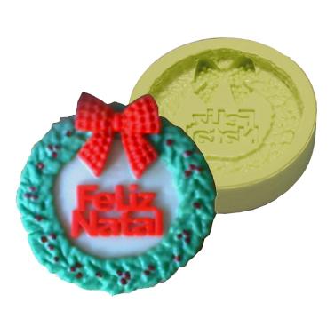 Molde Guirlanda Feliz Natal