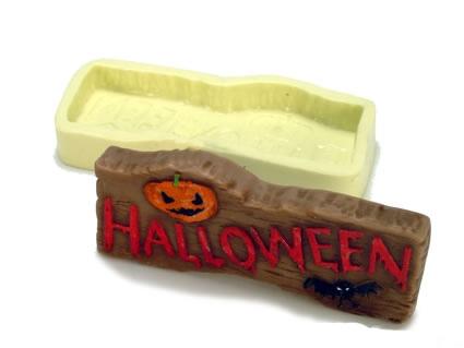 Molde Halloween Placa
