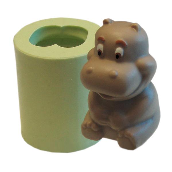 Molde Hipopotamo Sentado