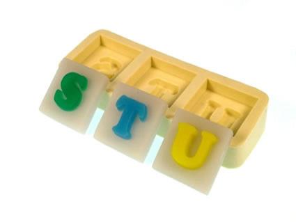 Molde Letras STU