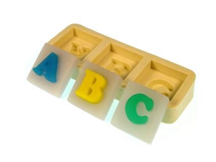 Molde Letras ABC