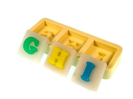 Molde Letras GHI