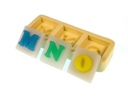 Molde Letras MNO