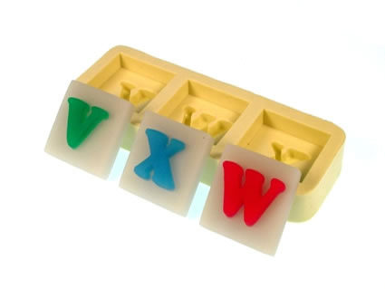 Molde Letras VXW