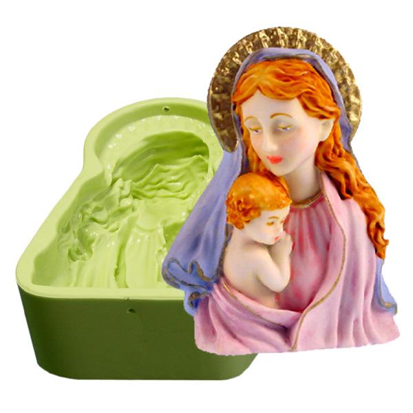 Molde Nossa Senhora e Jesus