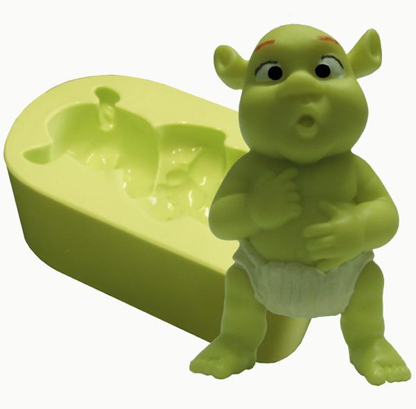 Molde Ogro Bebê