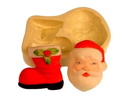 Molde Papai Noel/ Bota