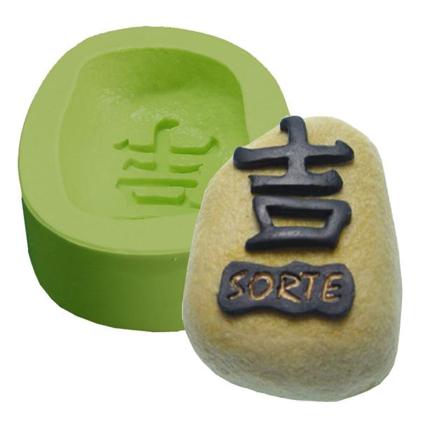 Molde Pedra Sorte Kanji