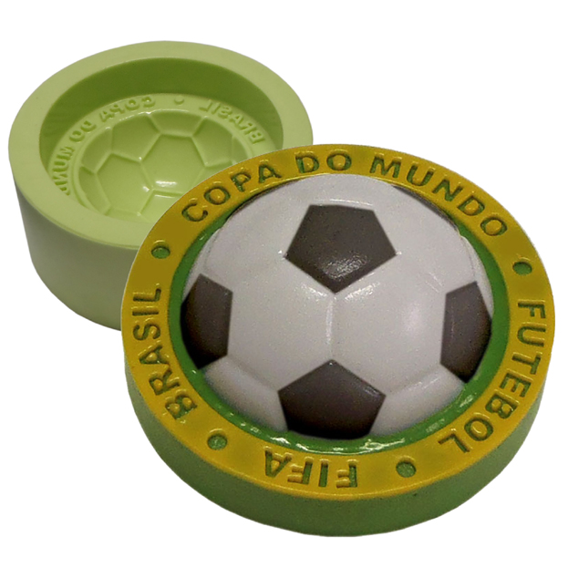 Molde Redondo Bola Copa