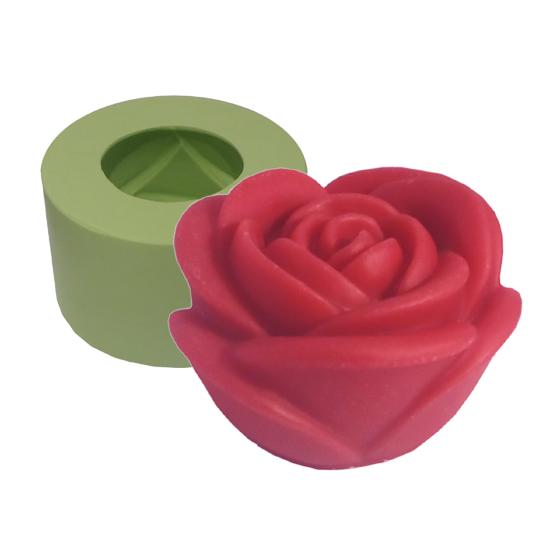 Molde Rosa Fofa