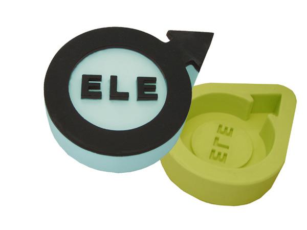 """Molde Simbolo Sexual """"ELE"""""""
