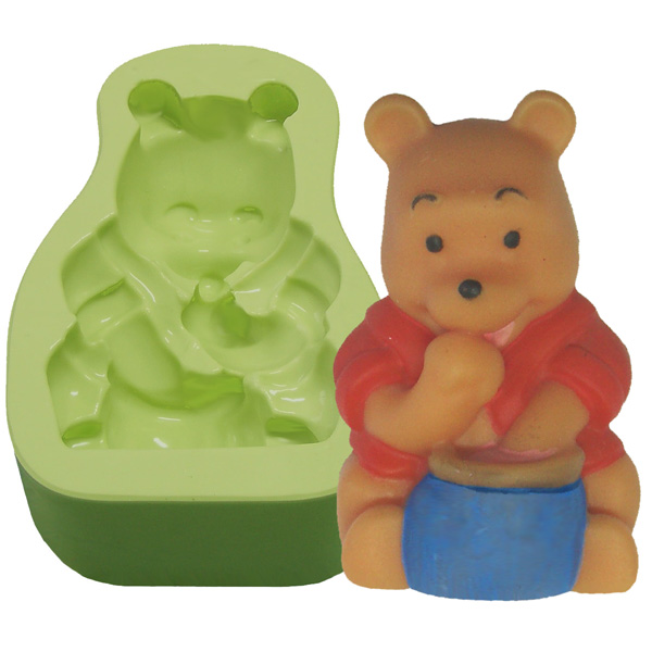Molde Urso Fofo