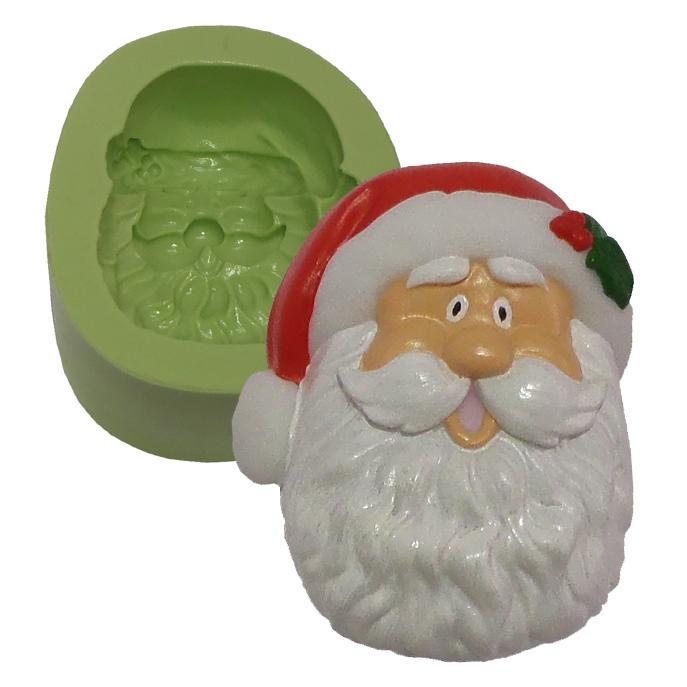 Molde Papai Noel Face