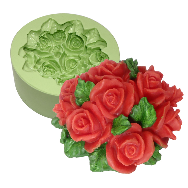 Molde Ramalhete de Rosas