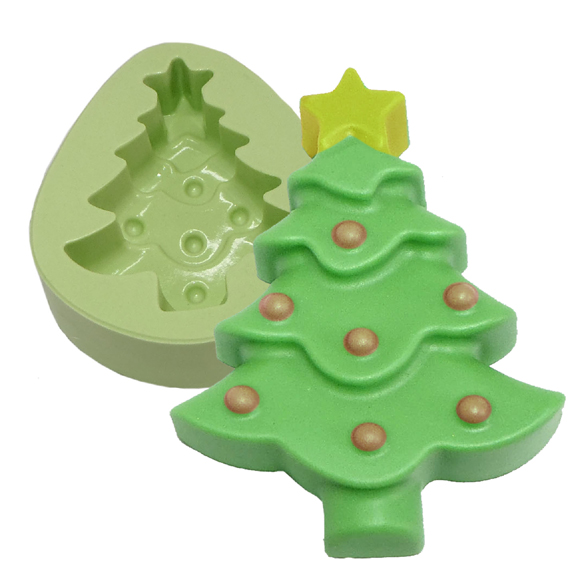 Molde Árvore de Natal Deitada